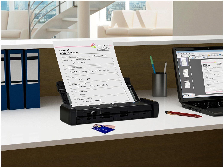 Foto 7 - Scanner Portátil Epson WorkForce ES-200 Colorido - Wireless 600dpi Alimentador Automático