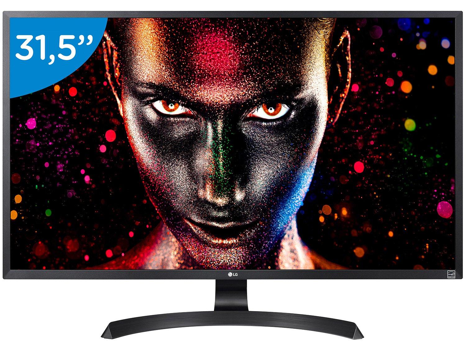 Foto 1 - Monitor para PC 4K LG LED 31,5 - 32UD59-B