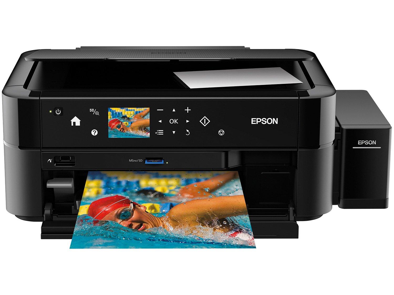 Foto 1 - Impressora Multifuncional Epson EcoTank L850 - Tanque de Tinta USB