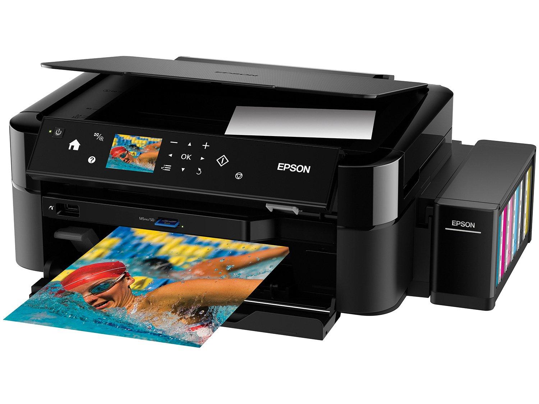 Foto 2 - Impressora Multifuncional Epson EcoTank L850 - Tanque de Tinta USB