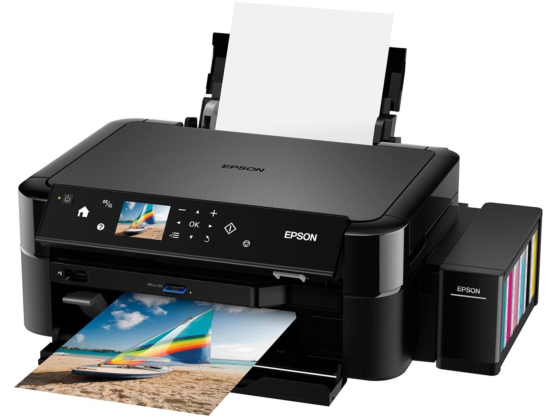 Foto 3 - Impressora Multifuncional Epson EcoTank L850 - Tanque de Tinta USB