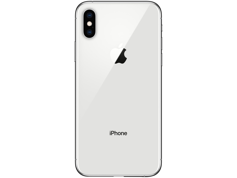 "iPhone XS Apple 64GB Prata 4G Tela 5,8"" Retina - Câmera Dupla 12MP + Selfie 7MP iOS 12 - Bivolt - 3"