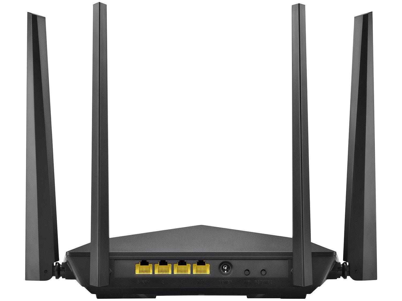 Foto 3 - Roteador Wi-Fi Multilaser RE184 1200mbps - 4 Antenas 4 Portas