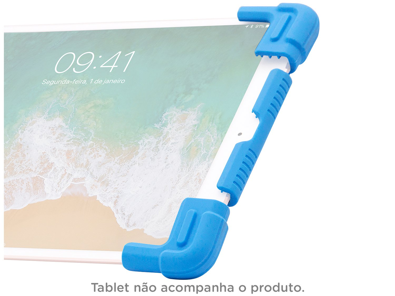 Foto 4 - Capa para Tablet Universal 7 até 7,9 Azul - Kids Geonav
