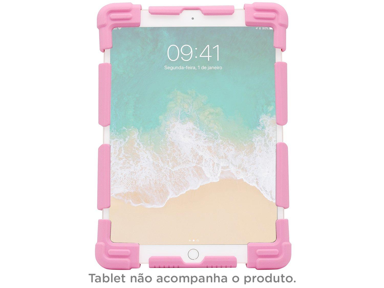 Foto 1 - Capa para Tablet Universal 9 até 12 Rosa - Kids Geonav