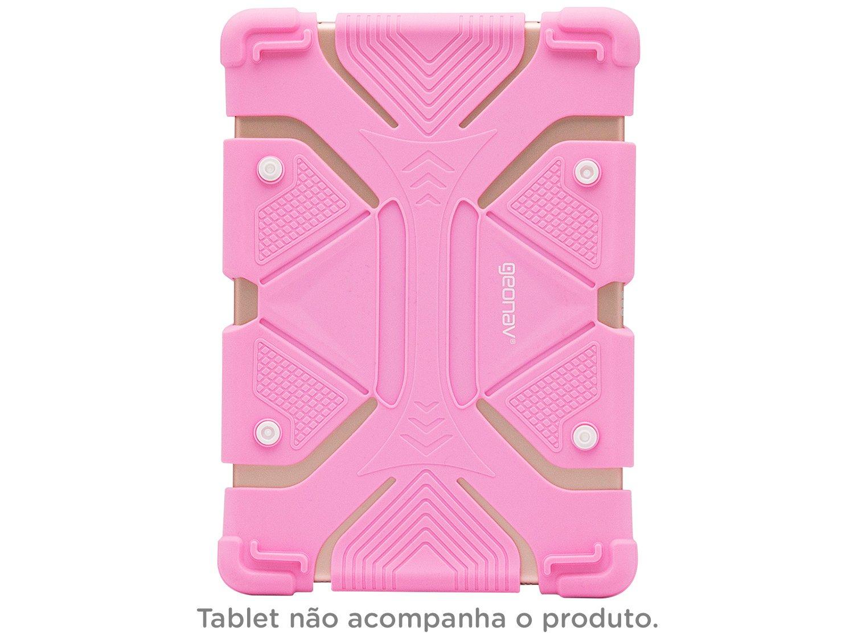 Foto 2 - Capa para Tablet Universal 9 até 12 Rosa - Kids Geonav