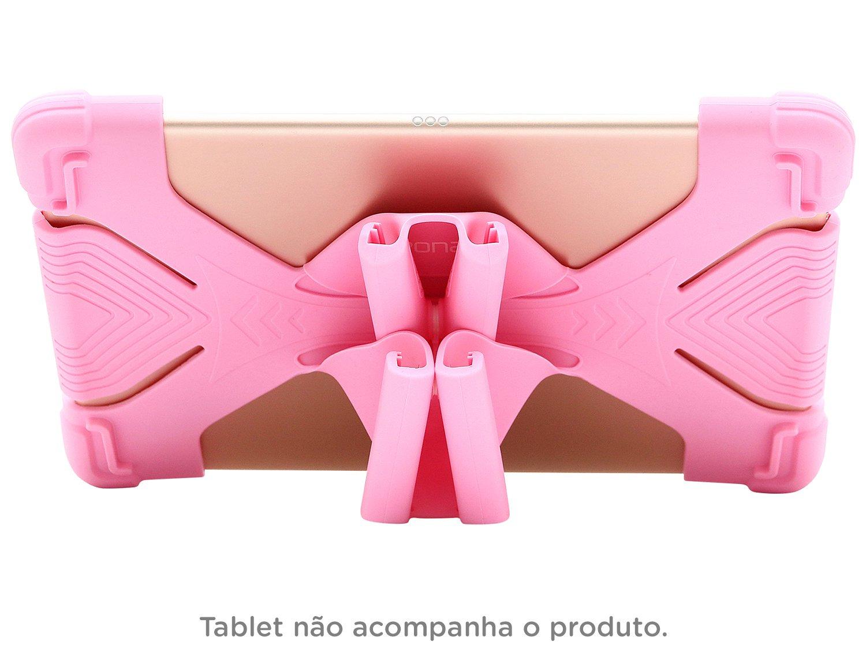 Foto 3 - Capa para Tablet Universal 9 até 12 Rosa - Kids Geonav