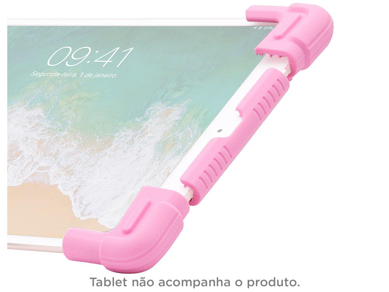 Foto 4 - Capa para Tablet Universal 9 até 12 Rosa - Kids Geonav