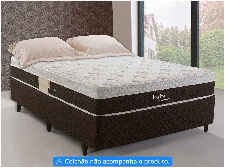 Box para Colchão Casal Herval 39cm de Altura - Turim Idea - 1