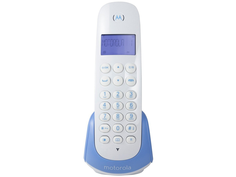 Telefone Sem Fio Motorola MOTO700-B - Identificador de Chamada Expansível Multi Ramal