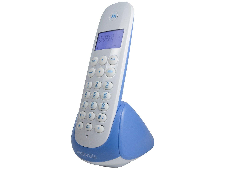 Telefone Sem Fio Motorola MOTO700-B - Identificador de Chamada Expansível Multi Ramal - 4