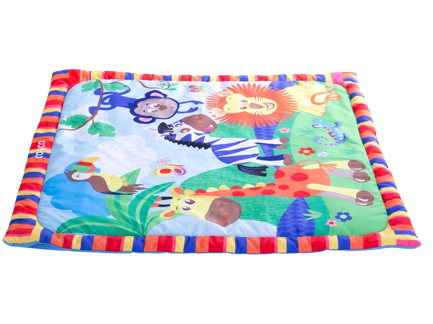 Tapete Infantil Holiday Zoo 76x76cm - Cosco - 4