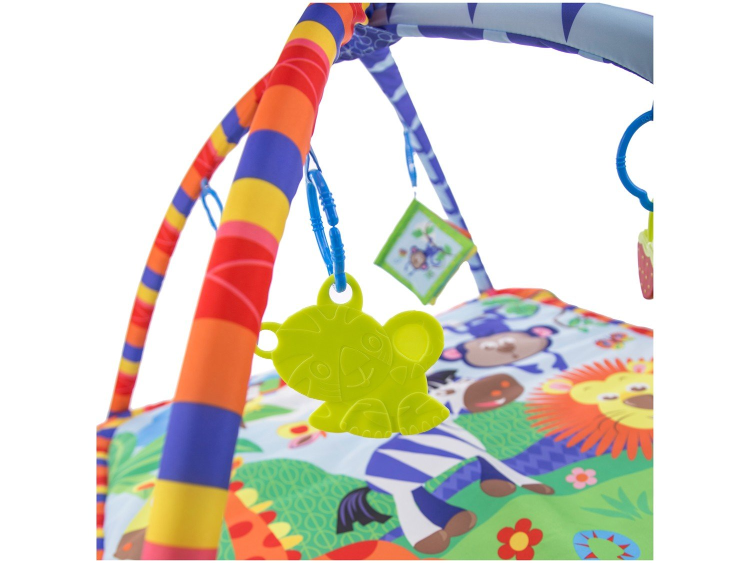 Tapete Infantil Holiday Zoo 76x76cm - Cosco - 12