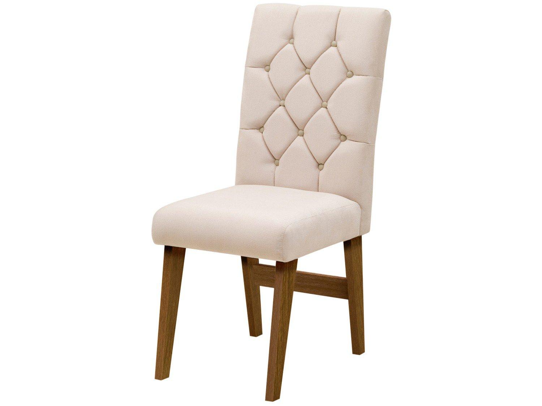 Foto 3 - Cadeira para Sala de Jantar Estofada 2 Peças - Dobuê Movelaria Istambul