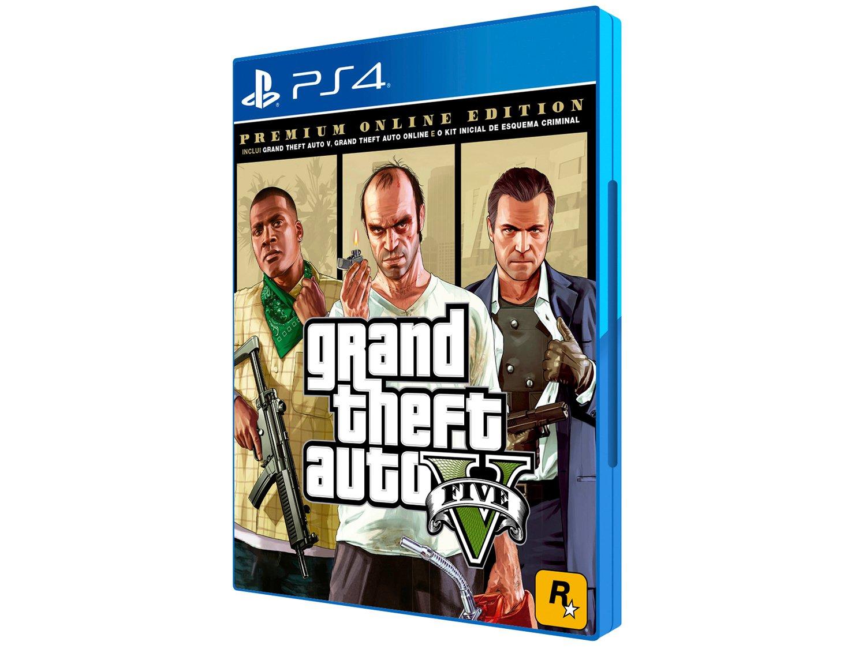 Grand Theft Auto V Premium Online Edition - para PS4 Rockstar