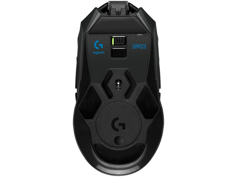 Foto 4 - Mouse Gamer Sem Fio Sensor Óptico 12000dpi - Logitech G903