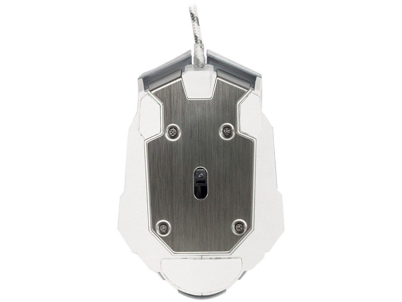 Foto 2 - Mouse Gamer Sensor Óptico 4000dpi OEX - Robotic MS308