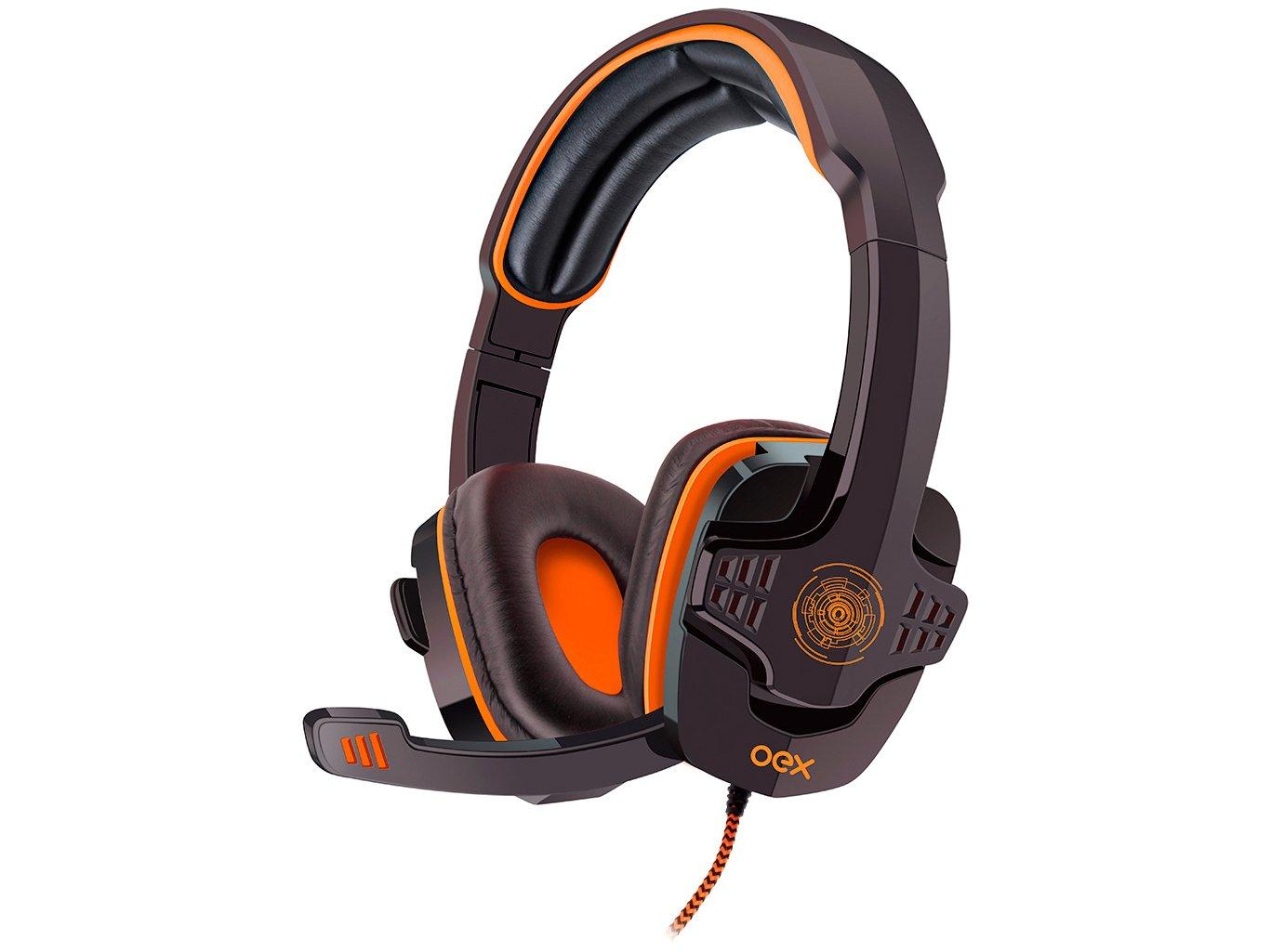 Foto 1 - Headset Gamer para PC OEX - Target HS203