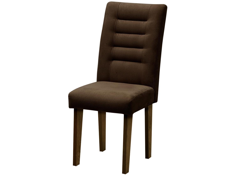 Foto 3 - Cadeira para Sala de Jantar Estofada 2 Peças - Dobuê Movelaria Vegas