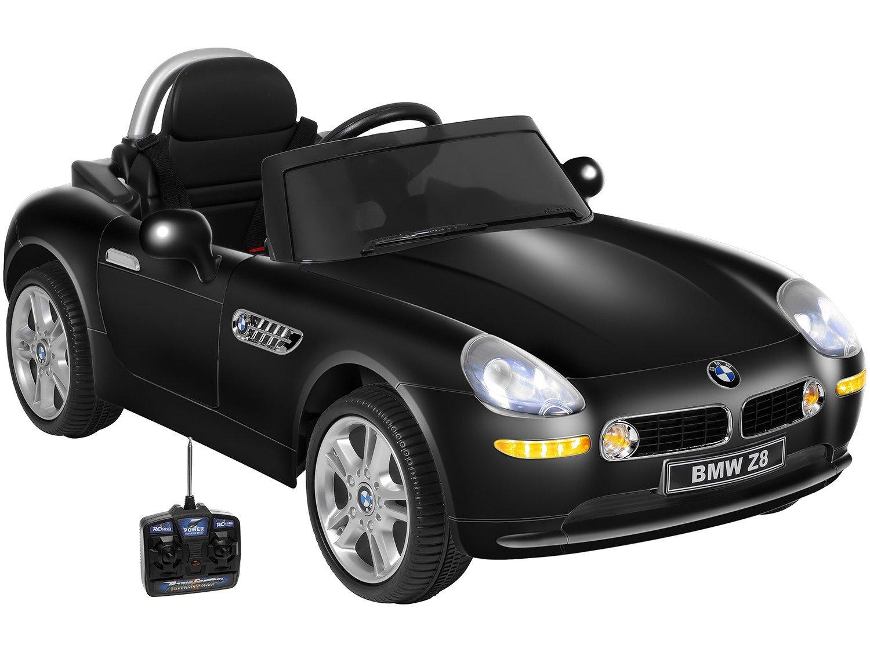 Carro Elétrico Infantil BMW Z8 - com Controle Remoto 2 Marchas Emite Sons 12V - Bivolt