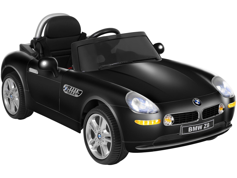 Carro Elétrico Infantil BMW Z8 - com Controle Remoto 2 Marchas Emite Sons 12V - Bivolt - 1