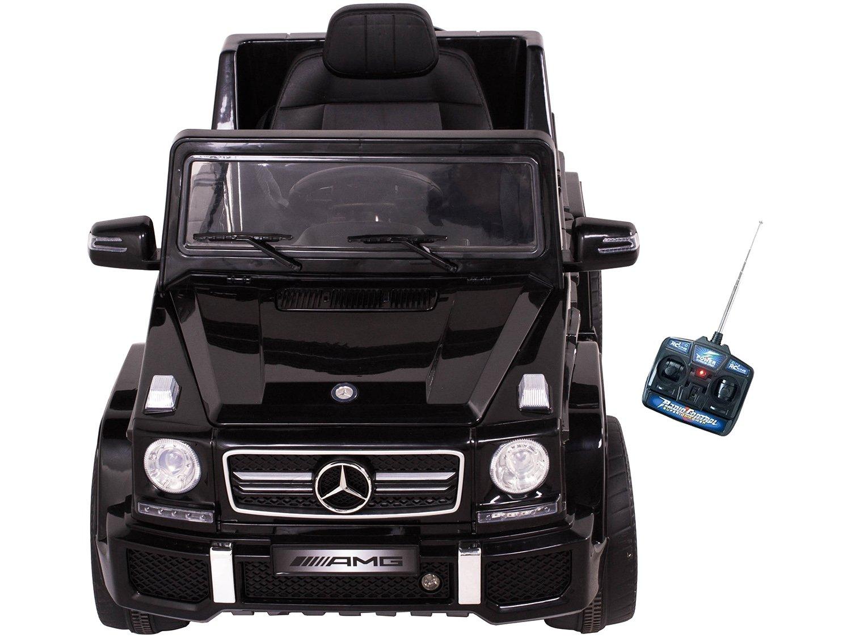Carro Elétrico Infantil Mercedes Off-Road - com Controle Remoto 2 Marchas Emite Sons Farol 12V - Bivolt