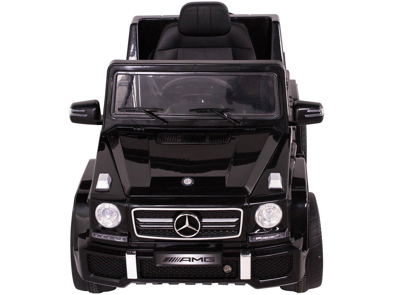 Carro Elétrico Infantil Mercedes Off-Road - com Controle Remoto 2 Marchas Emite Sons Farol 12V - Bivolt - 1