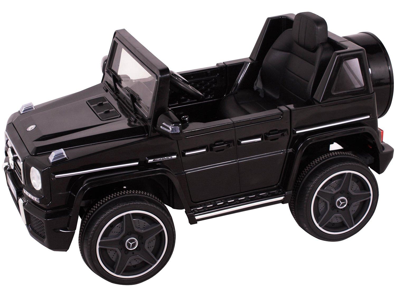 Carro Elétrico Infantil Mercedes Off-Road - com Controle Remoto 2 Marchas Emite Sons Farol 12V - Bivolt - 2