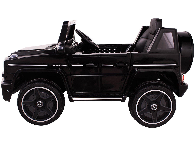 Carro Elétrico Infantil Mercedes Off-Road - com Controle Remoto 2 Marchas Emite Sons Farol 12V - Bivolt - 3