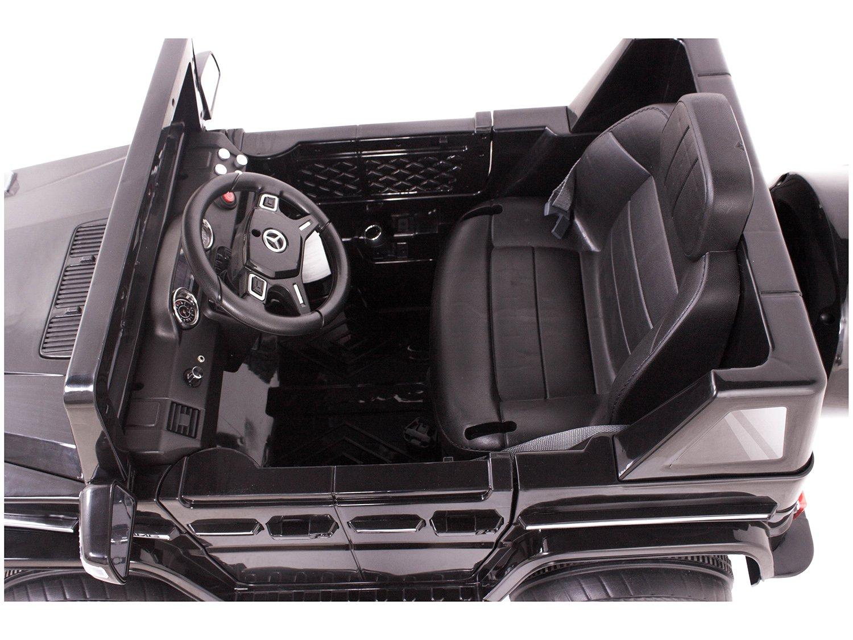Carro Elétrico Infantil Mercedes Off-Road - com Controle Remoto 2 Marchas Emite Sons Farol 12V - Bivolt - 4