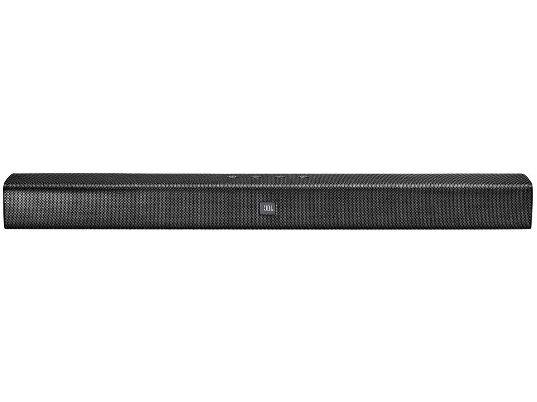 Soundbar JBL Studio 2.0 Canais com Bluetooth, Som Surround e Entrada HDMI - 26W - 3