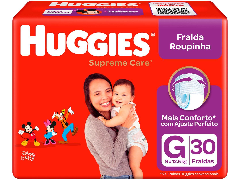 Fralda Huggies Turma da Mônica Supreme Care