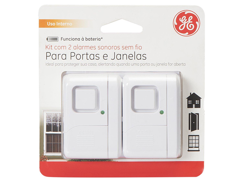 Alarme de Porta e Janela Sem Fio GE 39078 - 2 Unidades - 8