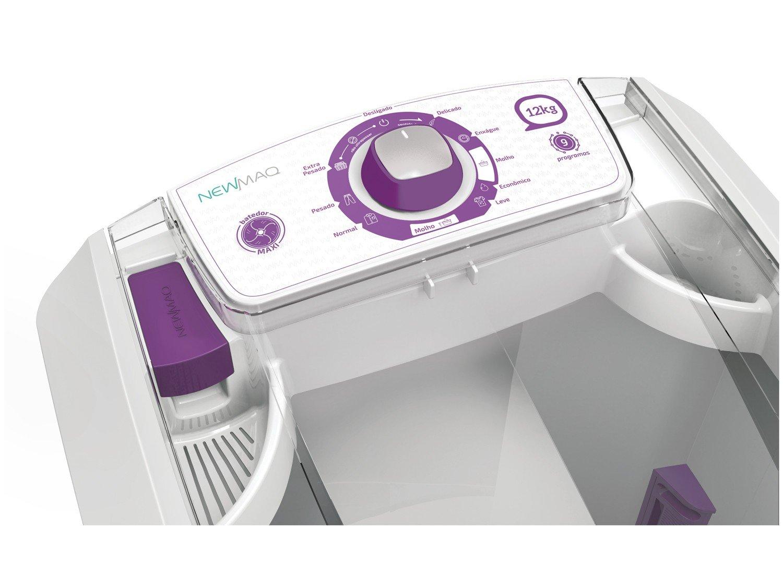 Lavadora de Roupas Newmaq 12 kg com 9 Programas e Filtro de Fiapos - Branca - 220V - 6