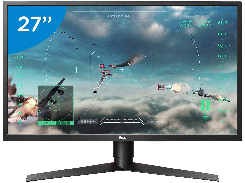 Foto 1 - Monitor Gamer Full HD LG LED Widescreen 27 - 27GK750F-B.AWZ