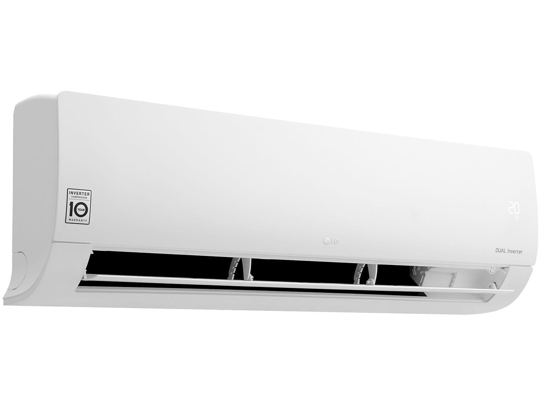 Foto 5 - Ar-condicionado Split LG Inverter 18.000 BTUs - Frio Dual S4Q18KL3WB