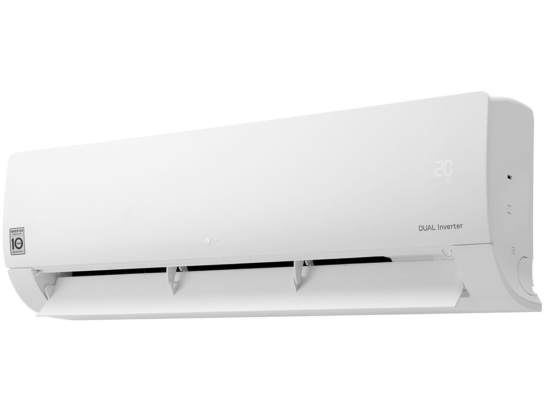 Foto 9 - Ar-condicionado Split LG Inverter 18.000 BTUs - Frio Dual S4Q18KL3WB