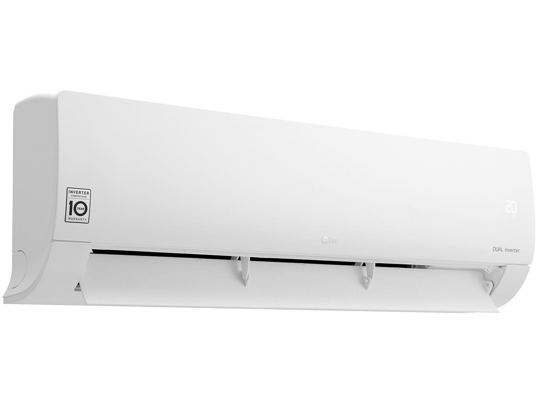 Foto 11 - Ar-condicionado Split LG Inverter 18.000 BTUs - Frio Dual S4Q18KL3WB
