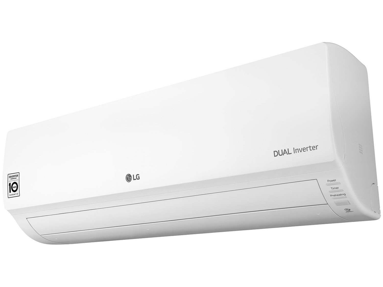 Ar-condicionado Split LG Inverter 9.000 BTUs - Quente/Frio Dual Inverter S4W09WA5WA - 220 V - 4