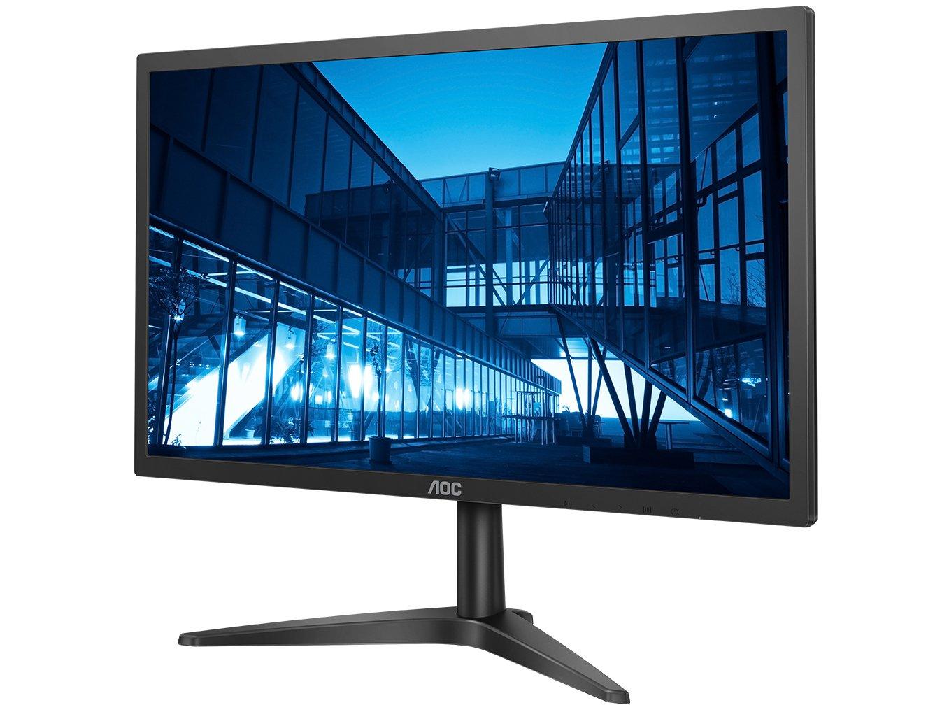 Foto 2 - Monitor para PC Full HD AOC LED Widescreen 21,5 - B1 22B1H