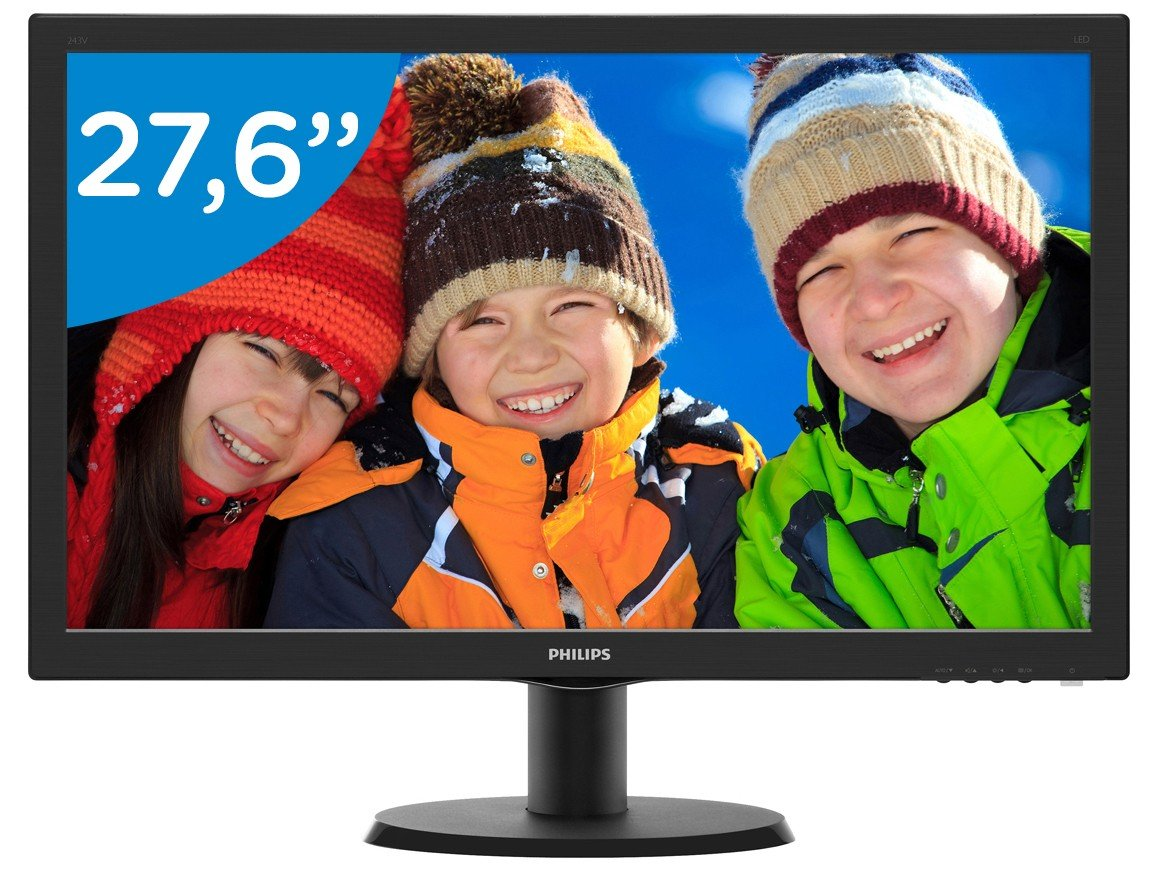Foto 3 - Monitor para PC Full HD Philips LED Widescreen - 27,6 273V5LHAB