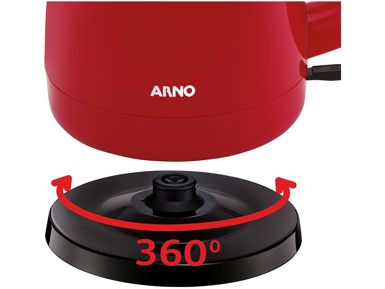 Jarra Elétrica Arno KF06 Vermelha 1,5L - Desligamento Automático - 3