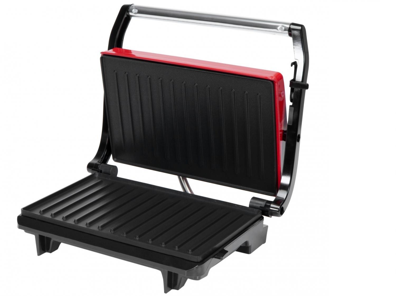 Grill Arno Compact Uno com Antiaderente - Vermelho - 110V - 4