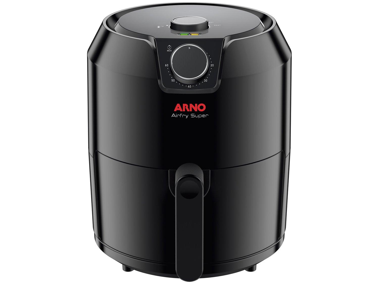 Fritadeira Sem Óleo Air Fryer Arno Super BFRY 4,2 L – Preta - 110V