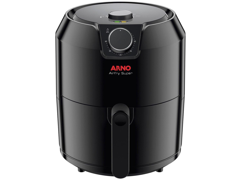 Fritadeira Sem Óleo Air Fryer Arno Super BFRY 4,2 L – Preta - 220V - 1