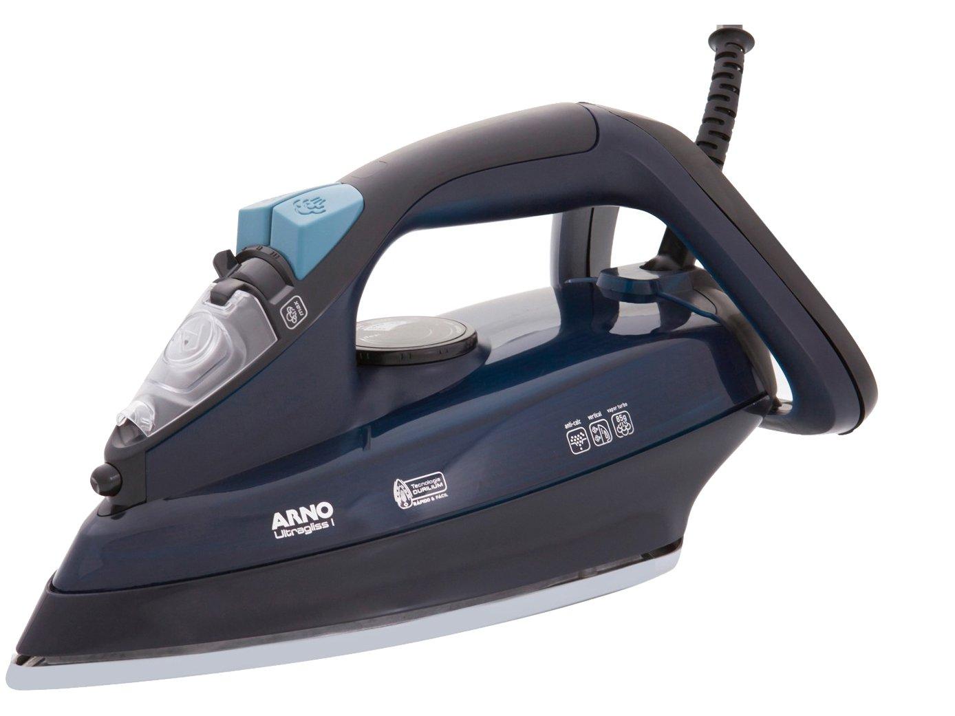 Ferro a Vapor Arno Ultragliss I FUA1 com Spray – Preto e Azul - 110V