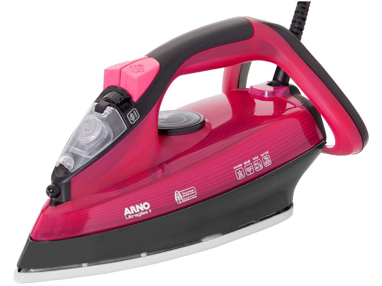 Ferro a Vapor Arno Ultragliss I FUA2 com Spray – Preto e Rosa - 110V