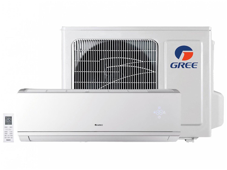 Ar-condicionado Split Gree Inverter 9.000 BTUs - Quente e Frio Hi-wall Eco Garden GWH09QAD3DNB8MI - 220 V