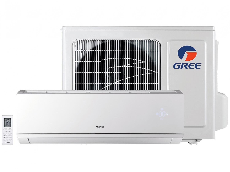 Foto 1 - Ar-condicionado Split Gree Inverter 24.000 BTUs - Frio Hi-wall Eco Garden GWC24QED3DNB8MI