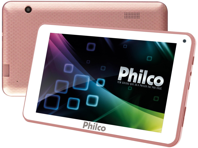 Foto 1 - Tablet Philco PTB7QRG 8GB 7 Wi-Fi - Android 7.1.2 Nougat Quad Core